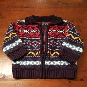 2 for $20 🌻 Zip up sweater 12 months